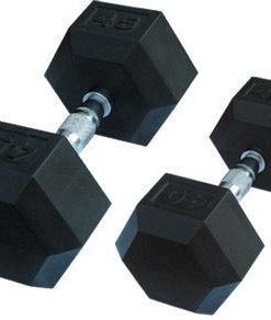 rubber hexdumbbells
