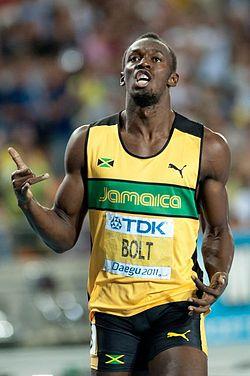 Usain Bolt : Record du monde du 100m en 9'58»
