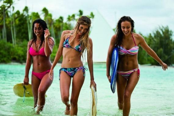 Bikini et surf