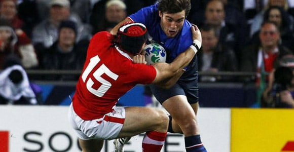 Rugby coupe du monde, France - Galles