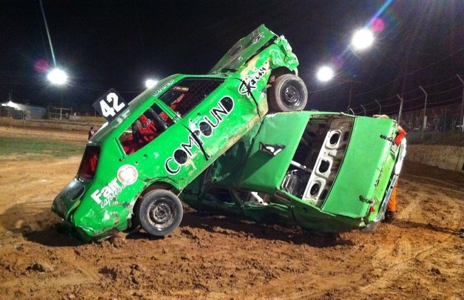 demolition destruction derby stock car