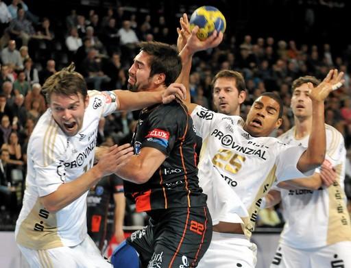 Kiel trop fort pour Montpellier