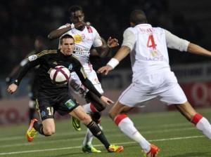 Amalfitano, à l'origine des deux premiers buts marseillais