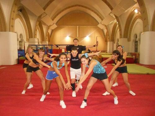 Découvrez le Cheerleading, avec l'équipe des Jaguars de Lyon