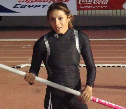 Nisrine Dinar, le record d'Afrique et le minima olympique