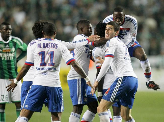 Ligue 1-28e journée: le grand match: l'OL passe au vert