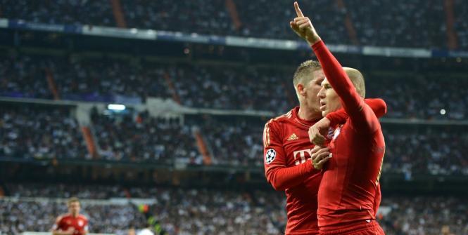 Ligue des champions: Le Barça à terre, le bayern à la maison