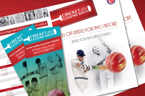 Les Cricket Legend Days, c'est ce week-end !