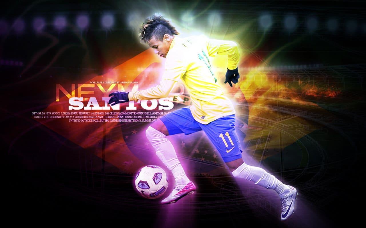 Neymar nouveau Pele