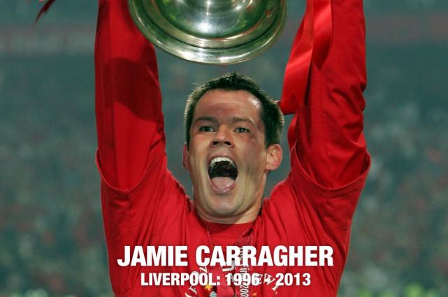 Jamie Carragher Liverpool 1996 -2013