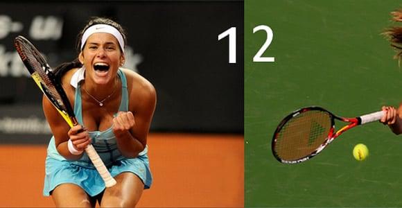 top 6 filles sexy du tennis