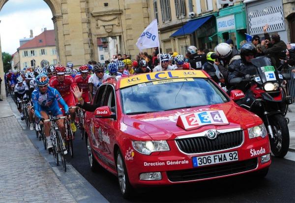 SKODA, partenaire officielle de la 100ième édition du Tour de France