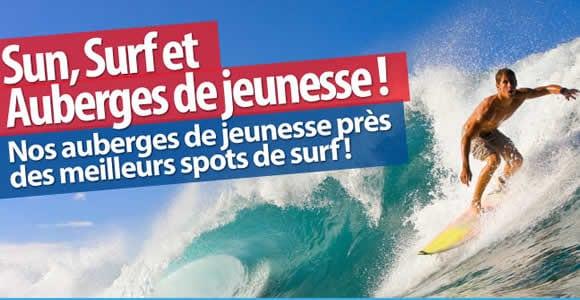 Sun, Surf et Auberges de jeunesse