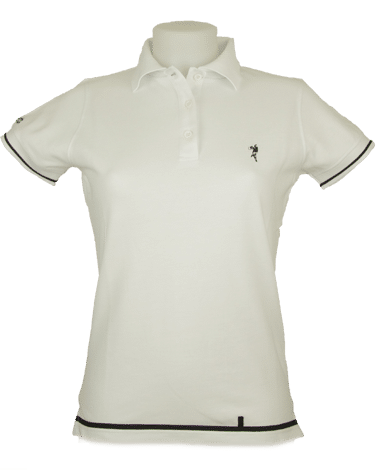 Polo blanc 5 sets femme