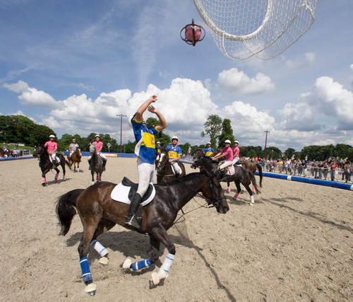 Sports équestres : le horse-ball