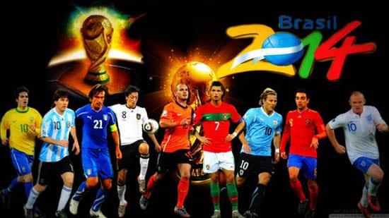 Tous les qualifiés de la coupe du monde 2014 au Brésil