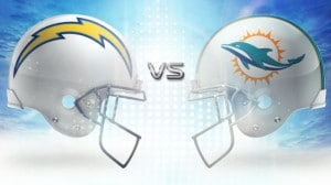 Dolphins vs Chargers