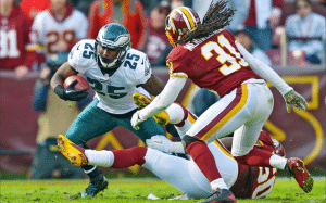 Redskins vs Eagles