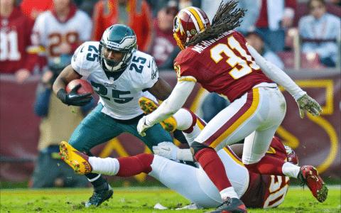 Redskins vs Eagles