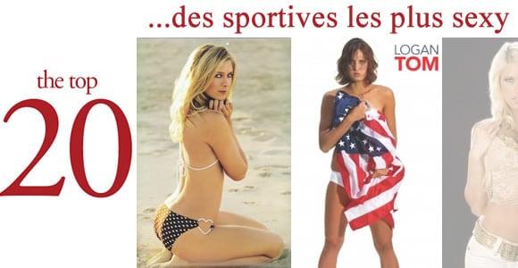 Top 20 des sportives les plus sexy