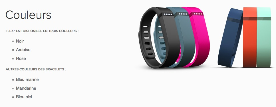 Fitbit Flex multi-colors