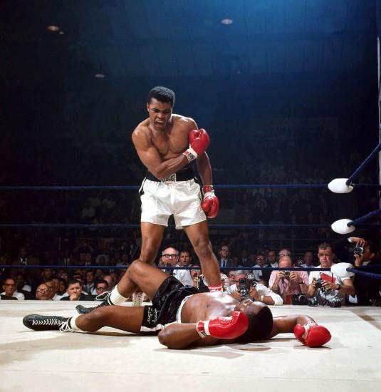 KO de Muhammad Ali contre Sonny Liston en 1965