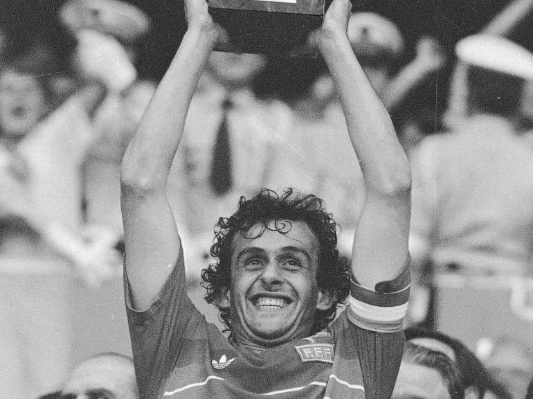 Michel Platini au Championnat d'Europe de Football