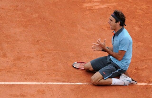 Roger Federer à Roland Garros en 2009