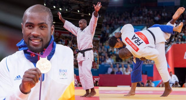 Teddy Riner remporte l'or aux JO
