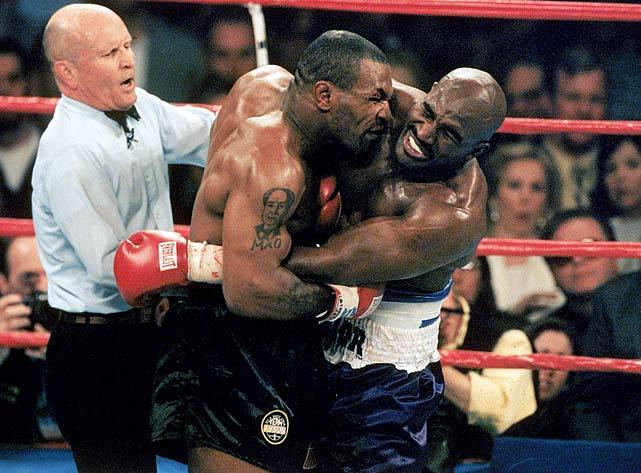 Combat Mike Tyson et Evander Holyfield en 1997