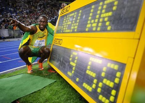 Record du monde Usain Bolt