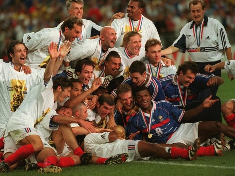 Le top sportifs fran ais vive le sport - Coupe du monde foot 1998 ...