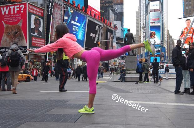 Buttfie Jen Selter rues new york