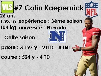 QB Colin Kaepernick