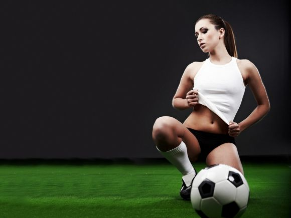 Le football sport sexy