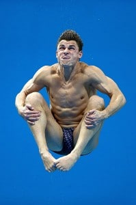 Funny side of Olympic diving