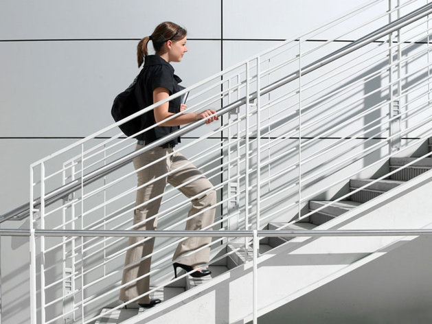 Les escaliers: ils sont eux aussi bons pour la santé !