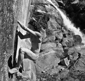 escalade cascade nue