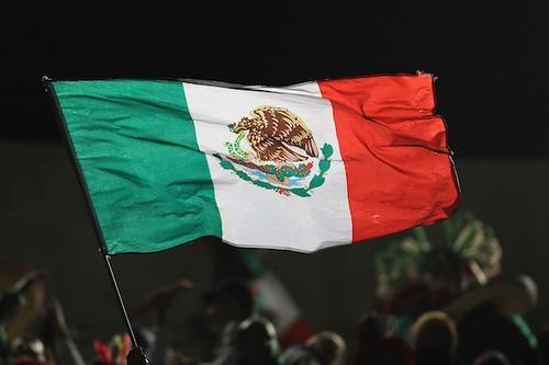 Mexique drapeau coupe du monde
