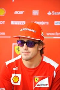 Fernando Alonso au Bahrain