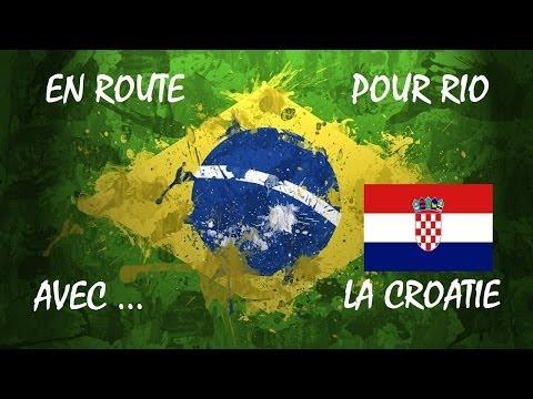 La Croatie à rio Coupe du Monde