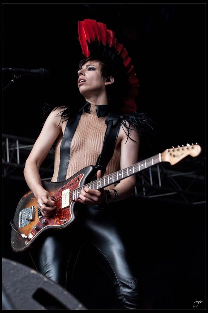 Katerine Gierak, chanteuse Rock