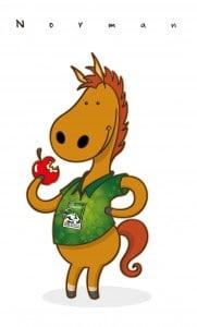 mascotte Norman, Jeux Equestres Mondiaus 2014