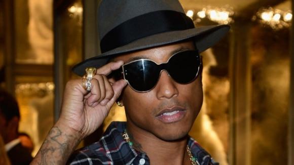 Pharrell Williams fait monter la température pour les Playoffs NBA