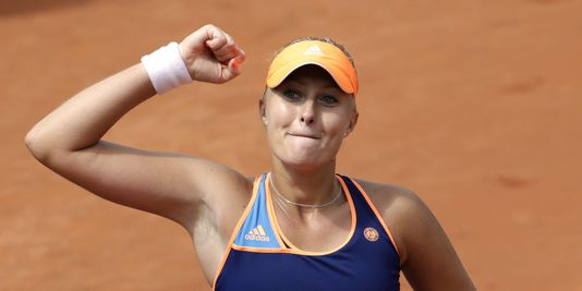 Roland-Garros : Mladenovic poursuit son ascension