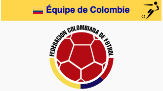 Colombie football logo