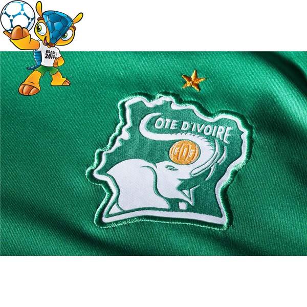 Côte d'Ivoire logo Brésil 2014