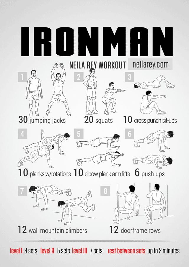 Iron Man exercices