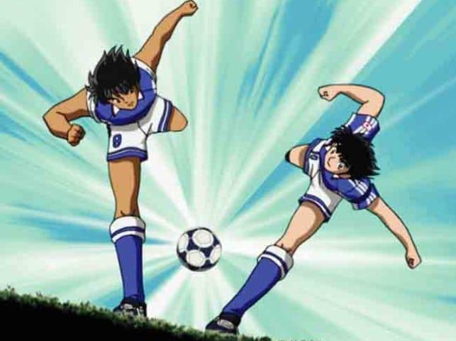 Des footballeurs japonnais se prennent pour Olive et Tom !