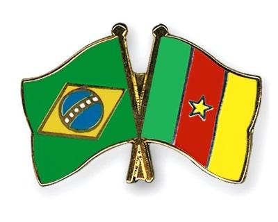 Pins Bresil Cameroun
